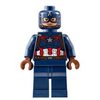 Lego Captain American and Winter Soldier