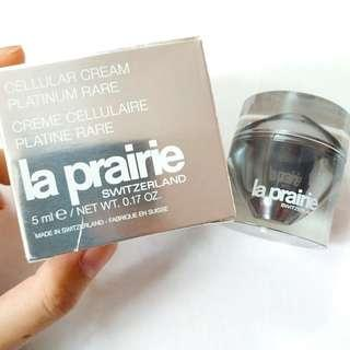 (清貨) la prarie PLATINUM RARE CELLULAR CREAM 活膚稀世鉑金面霜 5ml x1