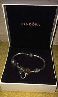 Original Pandora Bracelet and Charms