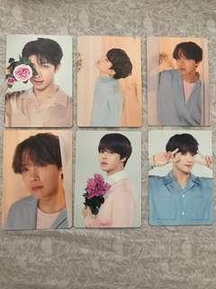 BTS LY Tour mini photocard