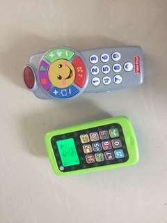 Fisher Price remote leap frog phone