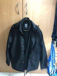 Timberland 三合一防風防水保暖外套 黑色 尺寸:M