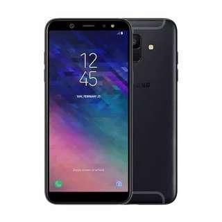 Kredit Samsung Galaxy A6 Black 3/32GB, Bisa Di Kredit Gann