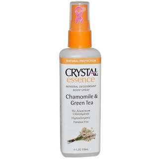 Crystal Deodorant Spray - Chamomile & Green Tea