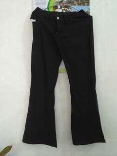Celana bahan/celana Hitam/celana kerja wanita#dibuangsayang