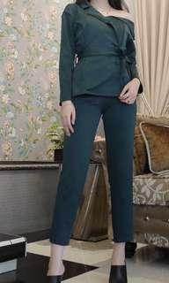 army blazer set