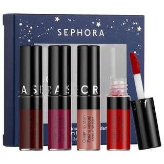 Sephora Cream Lip Satin Set