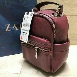 Zara ransel black ORIGINAL (NO NEGO) !!