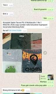 Testi sold out