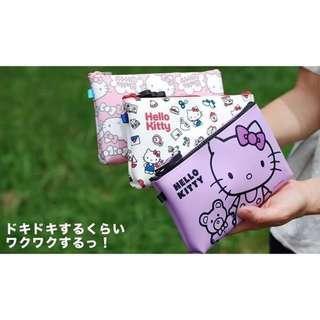 🇯🇵日本直送 ✈✈  【p+g design NUU Hello Kitty 日清雞仔  矽膠萬用袋】