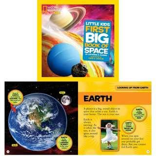 BN Book: National Geographic Little Kids First Big Book of Space (National Geographic Little Kids First Big Books)
