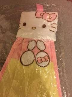 全新Hello Kitty 抹手毛巾
