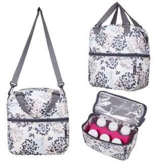 Autumnz breast milk storage cooler bag - Henna Grey