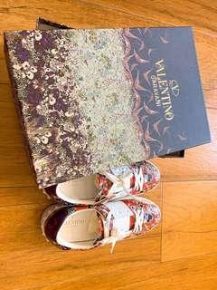 Valentino Garavani Sneaker 38碼 女裝 平底鞋 紅色