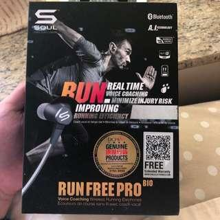 全新Soul Run free pro bio wireless 無線耳機 headphones earbuds