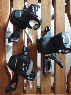 Shifter Front(Left), Shimano Deore, XT