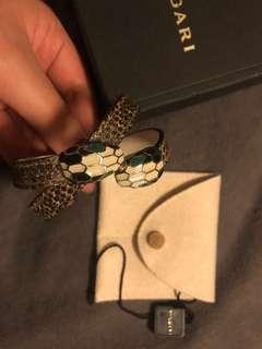 🚚 寶格麗 Bvlgari真品 雙環蛇頭手環 正品 經典款