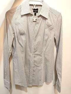 Sale Express Striped dress shirt top