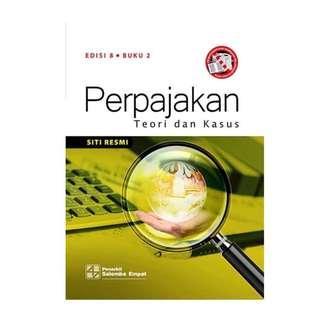 Buku Perpajakan Teori dan Kasus Siti Resmi Edisi 8