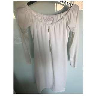 Brand New Meshki White Dress