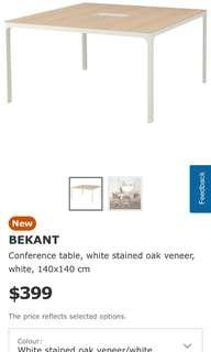 🚚 Ikea Bekant conference table
