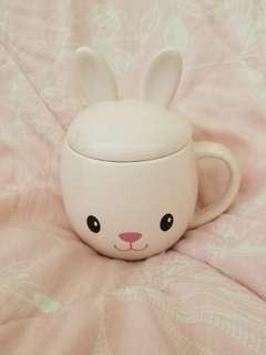 韓國 everland 限量 兔仔造型杯 杯
