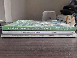 Grade 11 & 12 Books