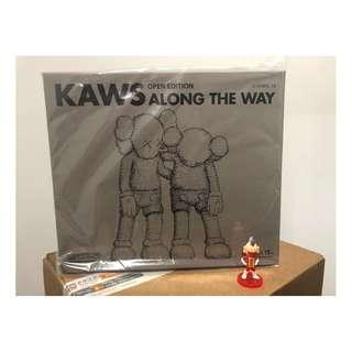 全新現貨 Kaws ALONG THE WAY (Brown) 棕啡色
