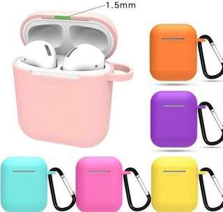 apple airpod casing with hook