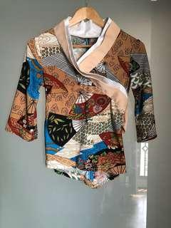 Japanese Kimono Inspired Top
