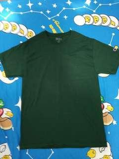 全新champion Size M tee classic logo T-shirt old school 淨色