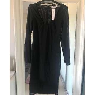 Brand New Meshki Black Dress