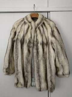 Fur Jacket 罕有白貂鼠皮草