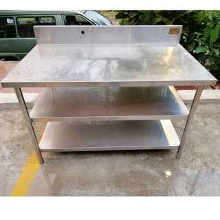 Stainless Steel 3 Tier Work Table