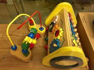 Wooden Toys & Xylophone