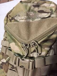 Camelbak Trizip with Mystery Ranch Futura system in Multicam