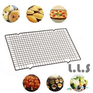 Stainless Steel Wire Cooling Rack Cake Bread Safe Oven Kitchen Baking Tools (KC1127) Singapore Seller + 100% Authentic
