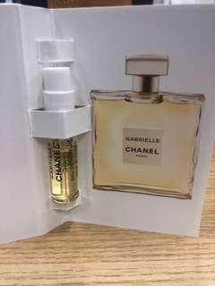 Chanel Gabrielle 香水 sample 1.5 ml