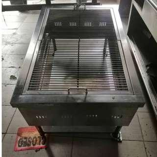 Commercial Stainless Steel BBQ Griller