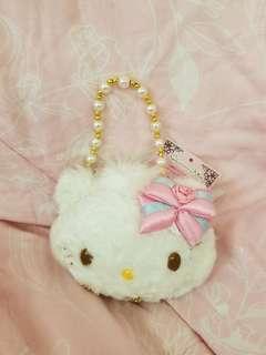 移民清櫃 hello kitty 日本限定公仔 飾物袋