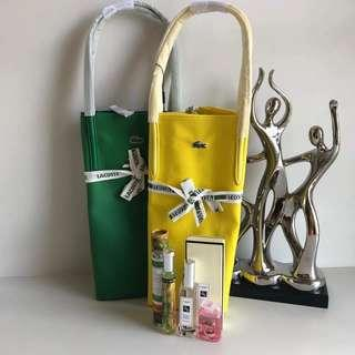 AUTHENTIC LACOSTE BAG WITH PERFUME SET