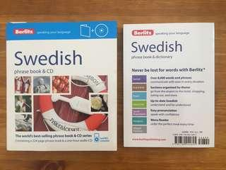 Swedish please book and dictionary