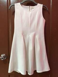 White Plain Dress