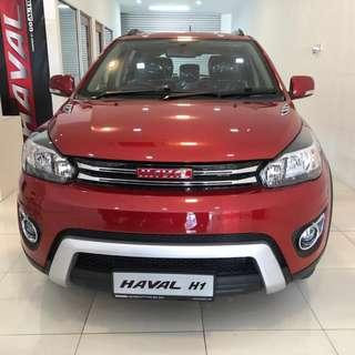 HAVAL H1 SUV EEV (SUPER DISCOUNT / FAST LOAN / READY STOCK )