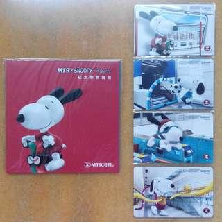 MTR 港鐵 x Snoopy in Sports 紀念車票 (連封套)