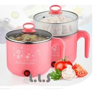 🚚 1.8L Multi Functional Electric Travelling Steamboat Cooker (KC1131) Singapore Seller + 100% Authentic