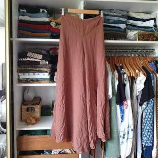 Forever New long brown pants high waisted