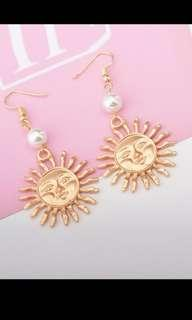[NEW] Dangly Sun Earrings #SwapAU