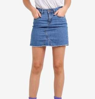 Size 10 | Factorie Denim Skirt #SwapAU