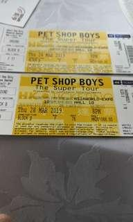 Pet Shop Boys HK Tour